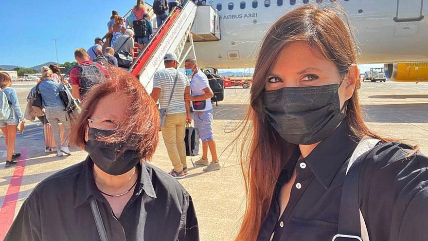 Un avión de Vueling se queda en tierra en Ibiza por una avería en una rueda