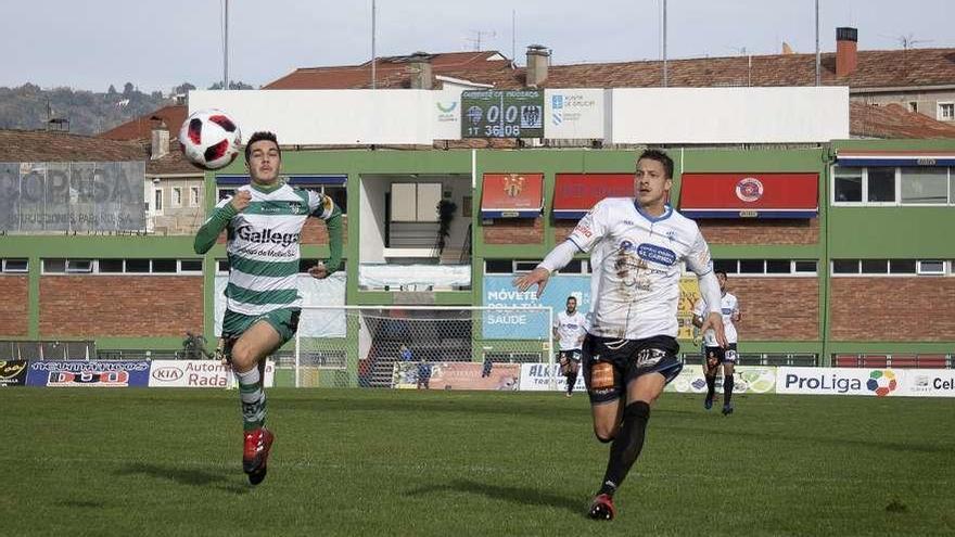 El Ourense CF examina al Racing de Ferrol
