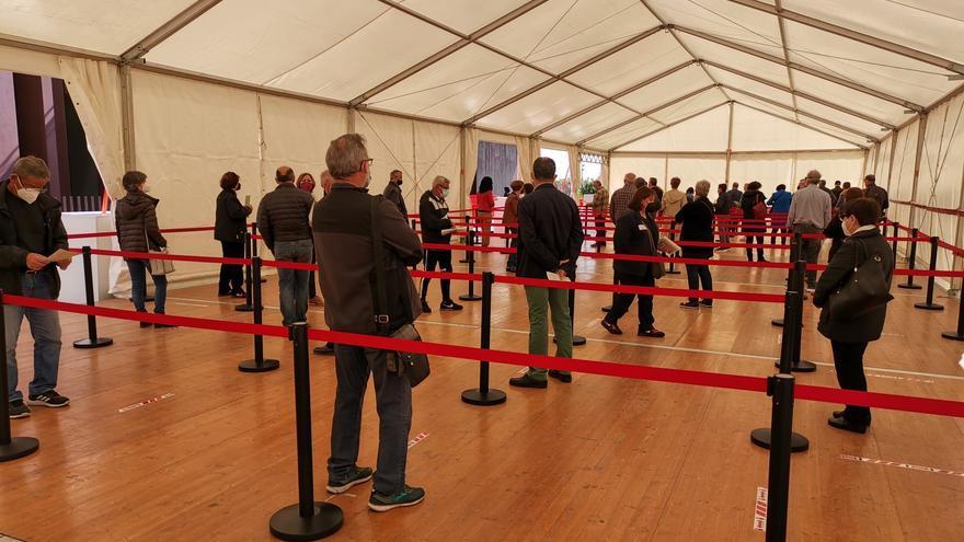 El Auditori de Castelló abre como 'vacunódromo' con 3.700 dosis al día