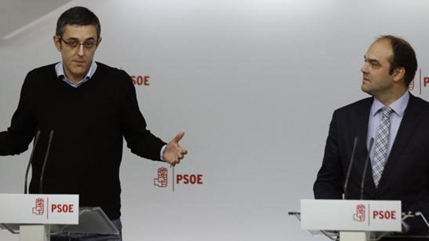 Madina y Díez renuncian a defender su ponencia en el Congreso del PSOE