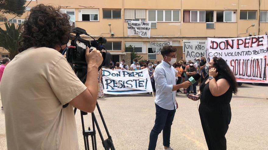 El juez desestima la suspensión del desalojo solicitada por los vecinos del Don Pepe, en Ibiza