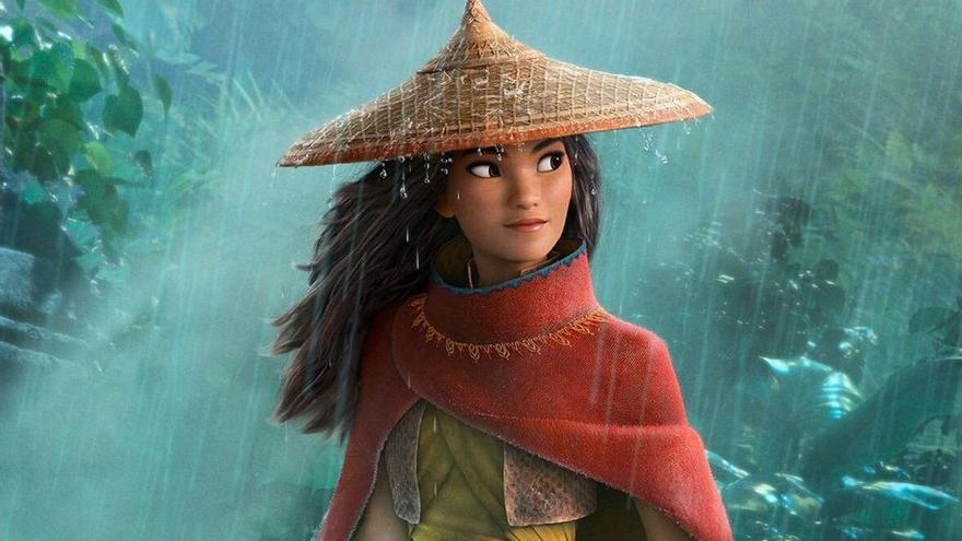 Disney estrenará 'Raya' en 'premium' en su plataforma y también en cines