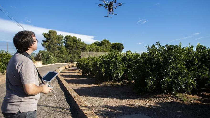 Drones para hacer las cuentas del campo