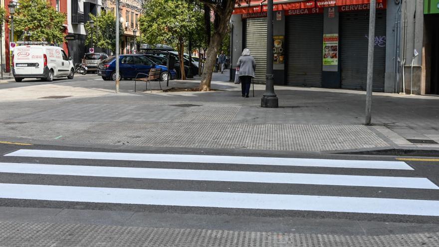 Movilidad suprime los semáforos en siete cruces de València