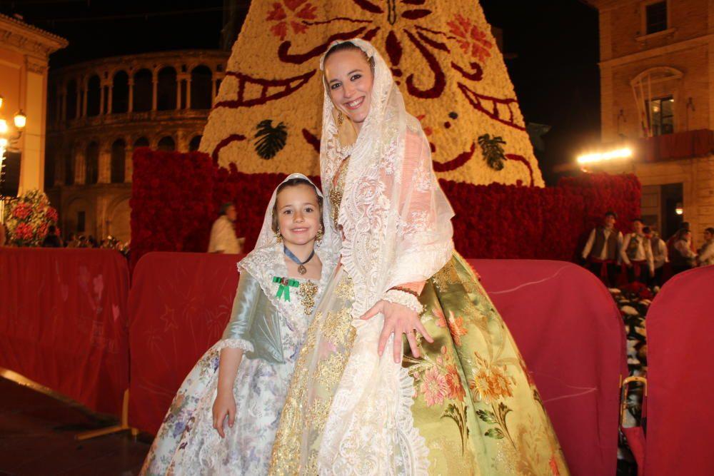 Arantxa Bartual (2005), cuya hija Claudia es este año la fallera mayor infantil de Na Jordana