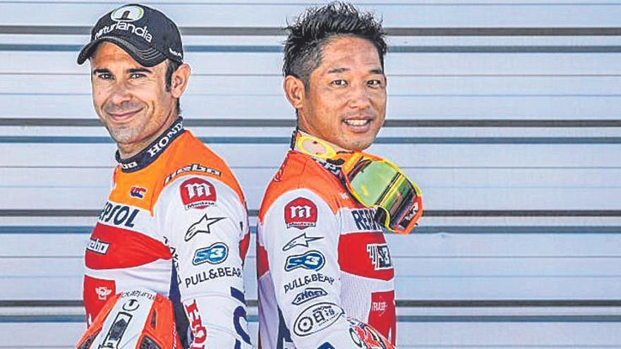 Toni Bou i Takahisa Fujinami competiran junts per quinzè any