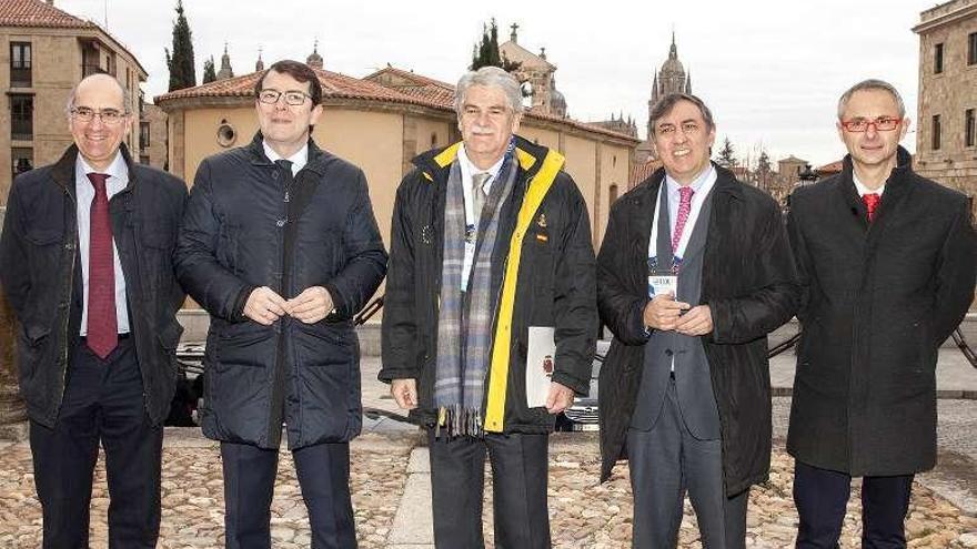 """Dastis dice en Salamanca que """"hay que ser inclusivos y no fomentar la fragmentación"""""""
