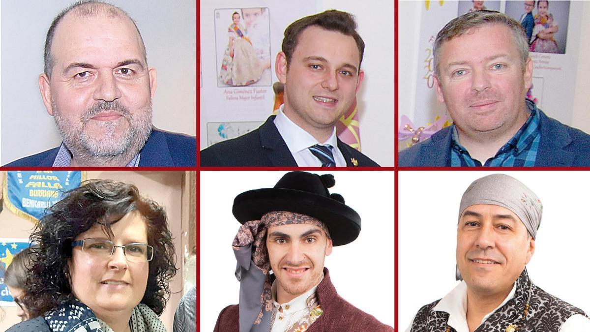 Así opinan seis presidentes de colectivos festivos de Burriana ante el regreso de las Fallas.