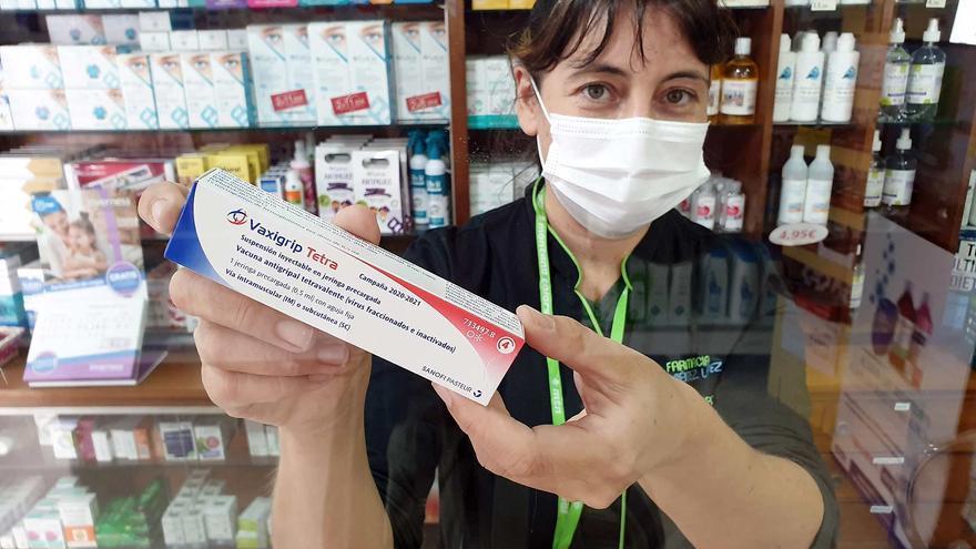 Las vacunas de la gripe, a cuenta gotas en las boticas