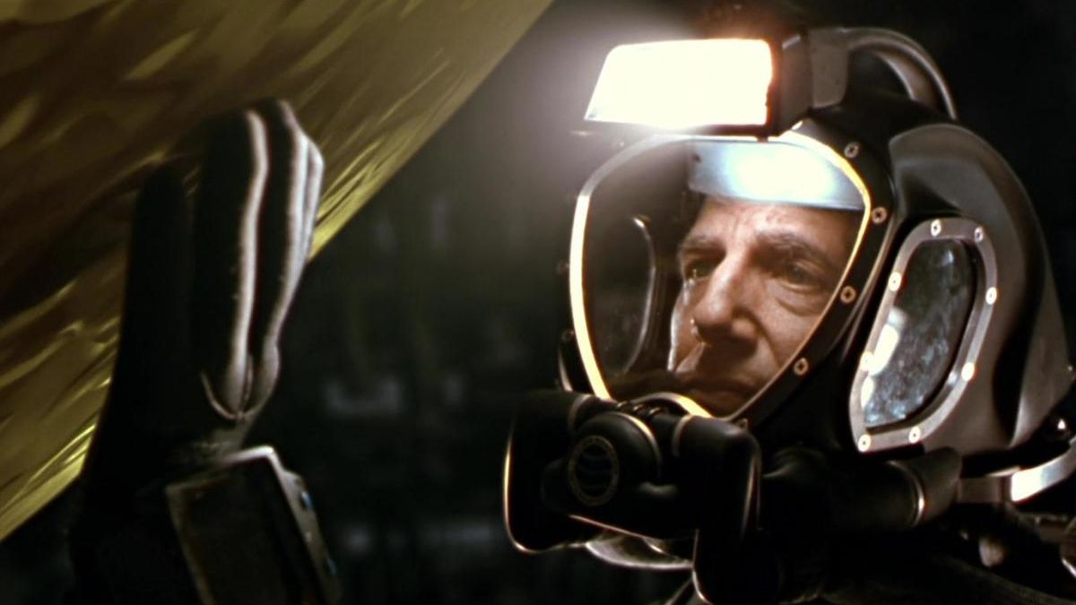 Dustin Hoffman en la película 'Esfera'.