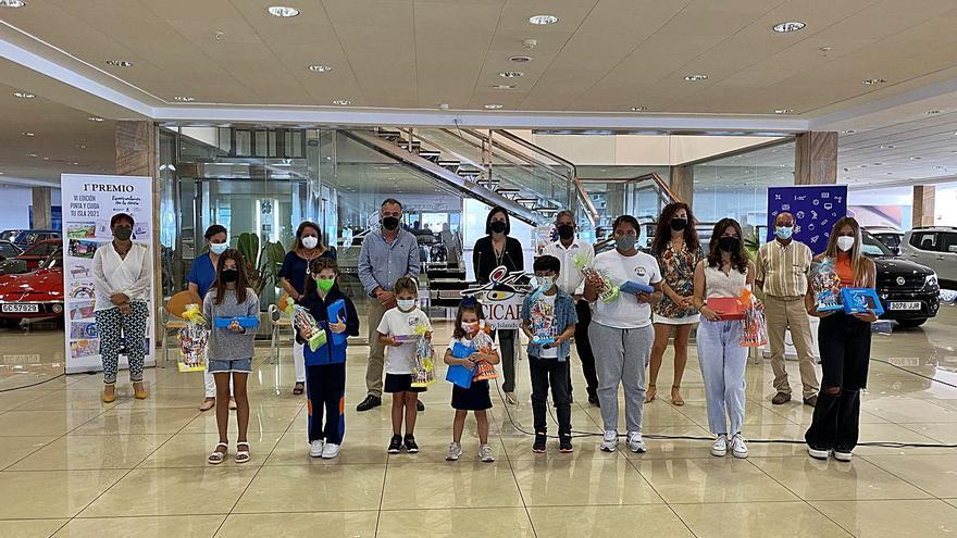 La VI edición de 'Pinta y cuida tu isla' reparte premios entre  2.000 trabajos presentados