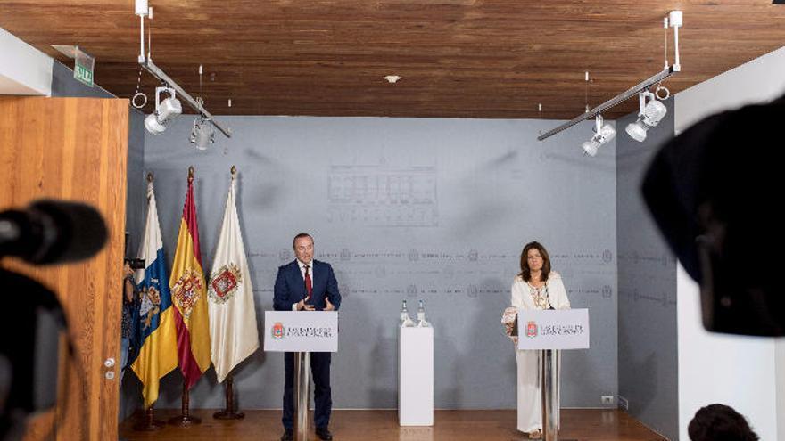 La capital y Telde buscarán juntos fondos europeos para el desarrollo de Jinámar