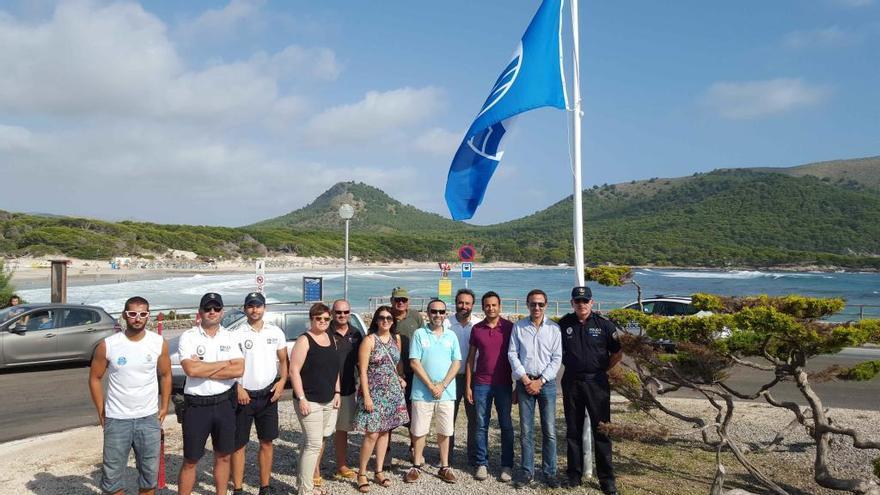 Seis playas de Mallorca no tendrán este año el distintivo de la bandera azul