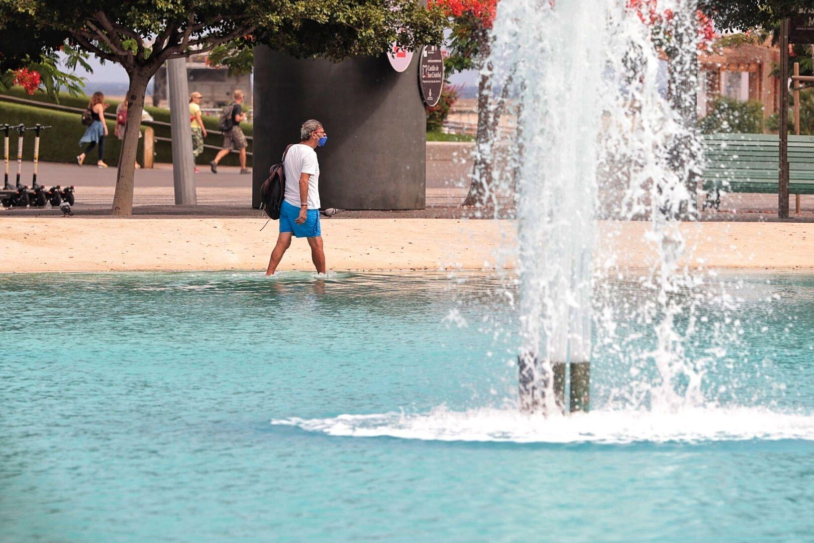 Alerta roja por calor en Canarias