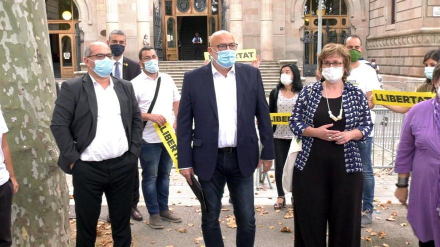 El TSJC condemna a 20 mesos d'inhabilitació Simó, Guinó, Corominas i Barrufet i absol Boya