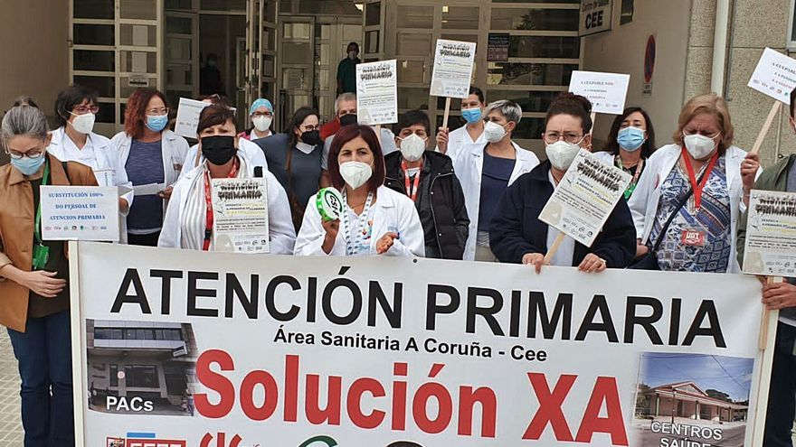 La Atención Primaria gallega, en pie de guerra