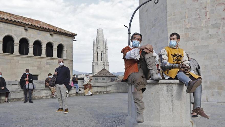 Roden una sèrie sobre sant Francesc d'Assís a la Catedral de Girona