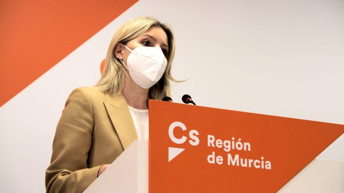 La coordinadora autonómica de Cs, Ana Martínez Vidal.