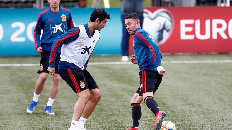 Las redes se acuerdan de Iago Aspas tras el empate sin goles del España-Portugal