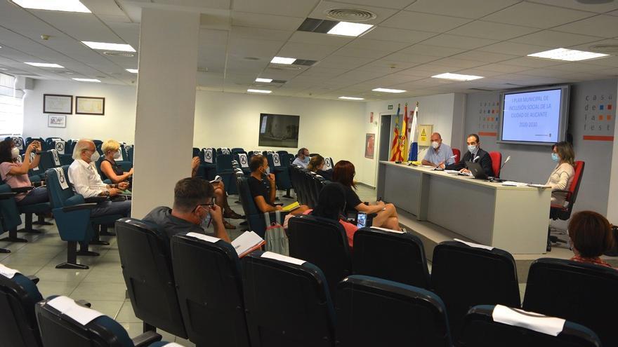 El bipartito avanza en el Plan de Inclusión Social de Alicante