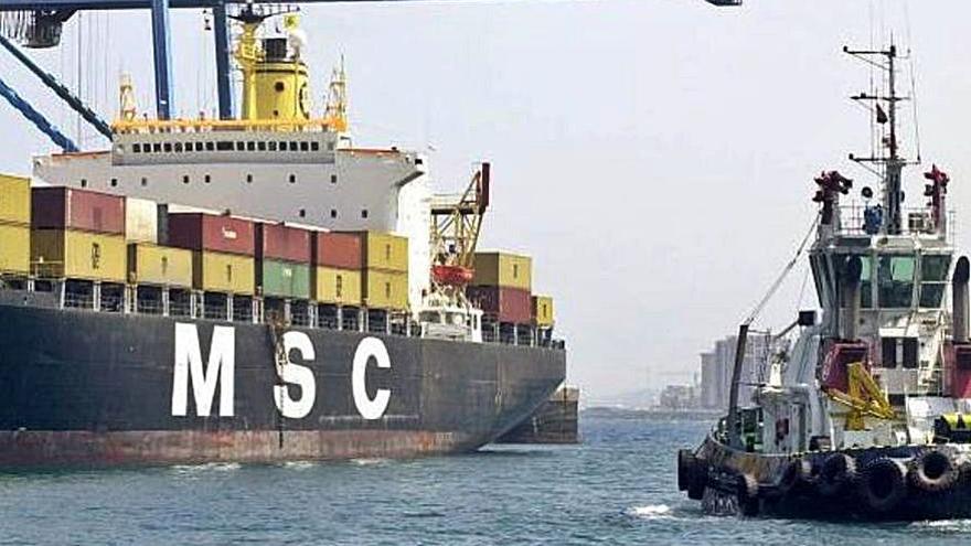 MSC competirá con Boluda en el Puerto de Las Palmas por el servicio de remolque de buques