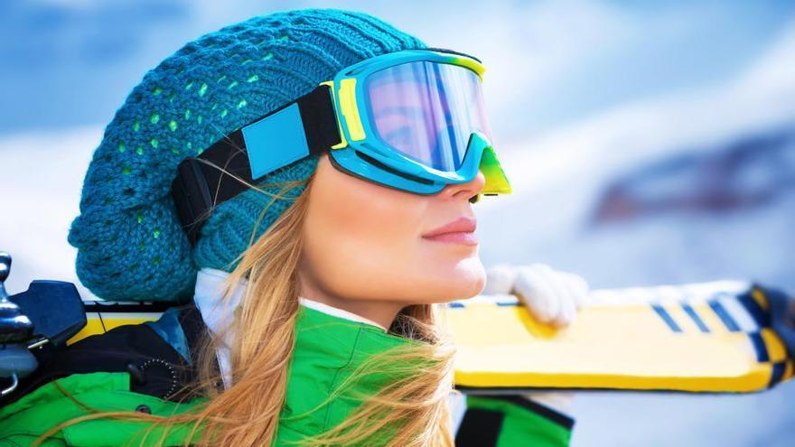 Cómo proteger tu vista al practicar deportes de nieve