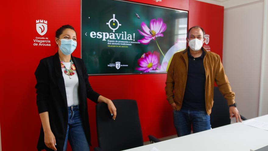 """Vilagarcía se viste con flores para la celebración este fin de semana de """"Espavila!"""""""