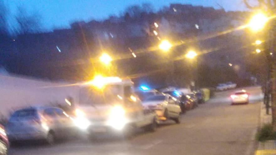 Una pelea de pareja acaba interrumpiendo el tráfico en Vigo