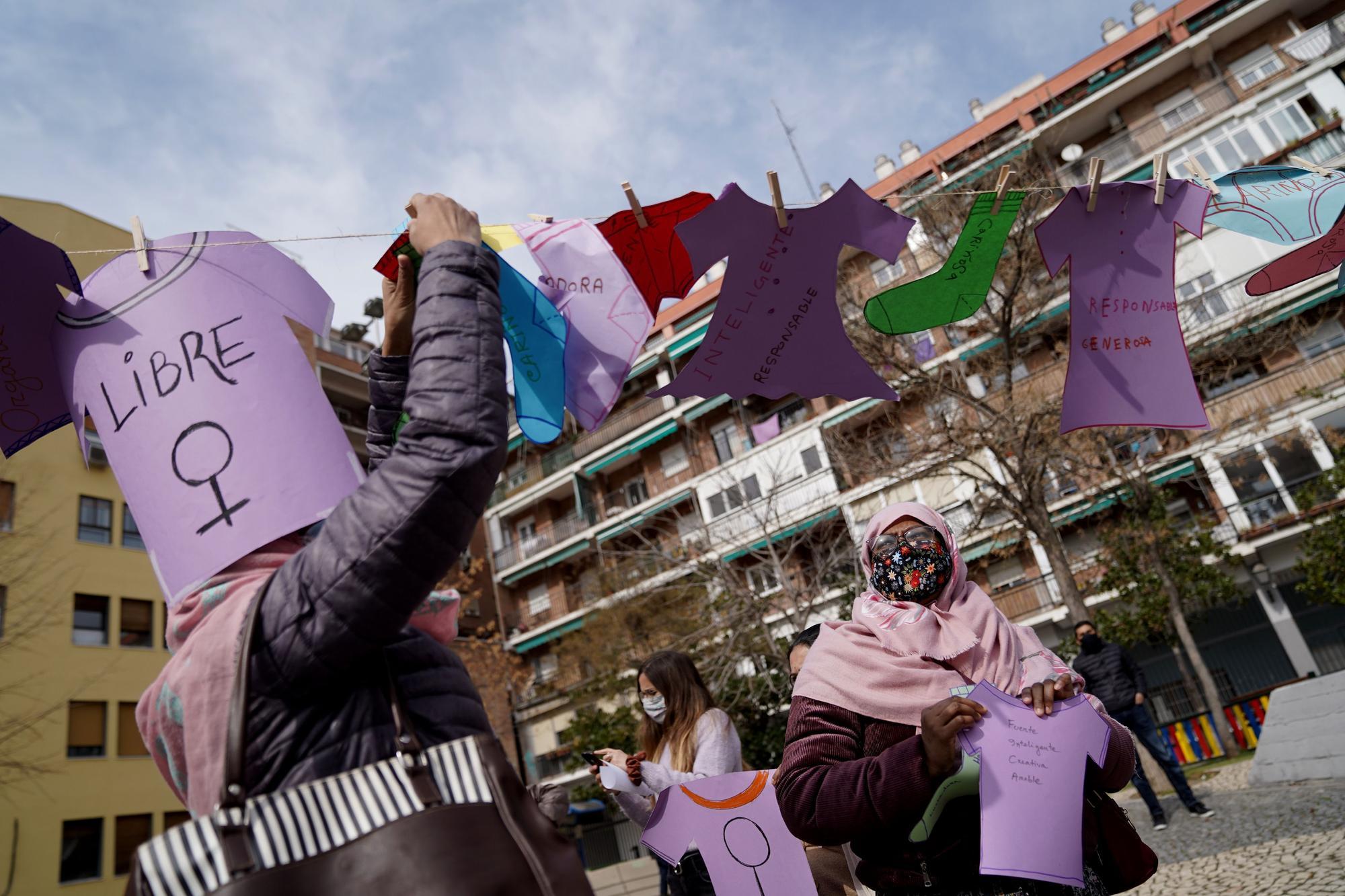 Concentraciones del 8M en Madrid