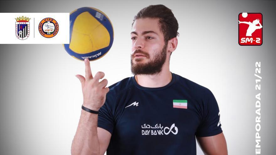 El Badajoz incorpora al receptor iraní Ali Shahbazi