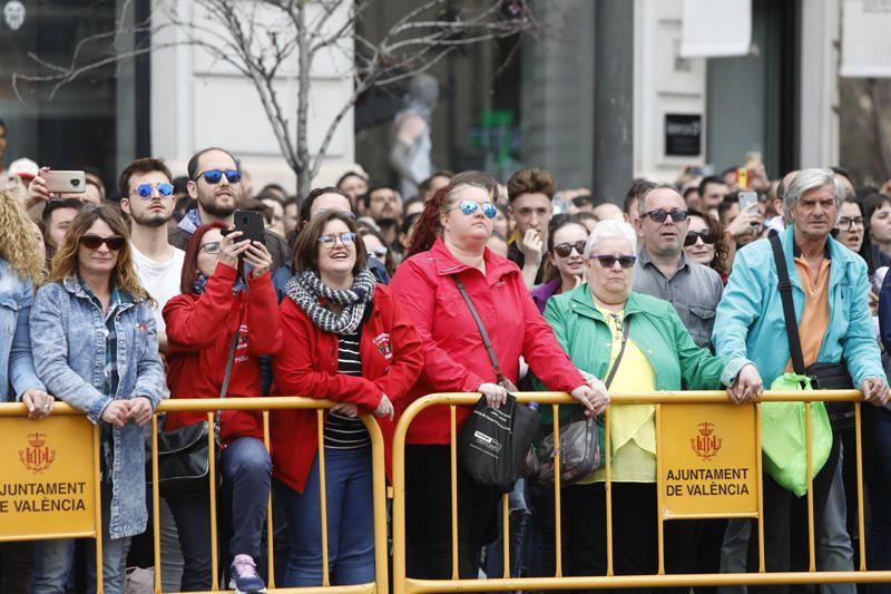 Búscate en la mascletà del 10 de marzo