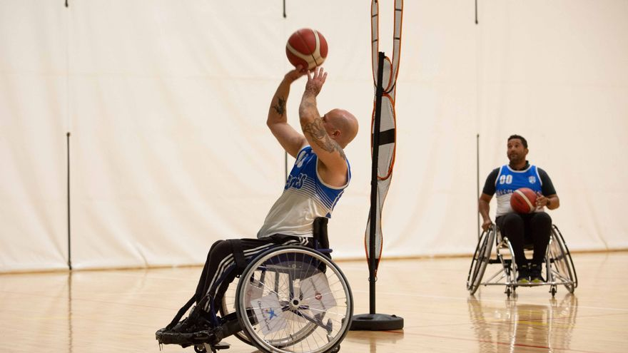 Pablo Hempler, referente ibicenco del basket en sillas de ruedas, busca apoyos