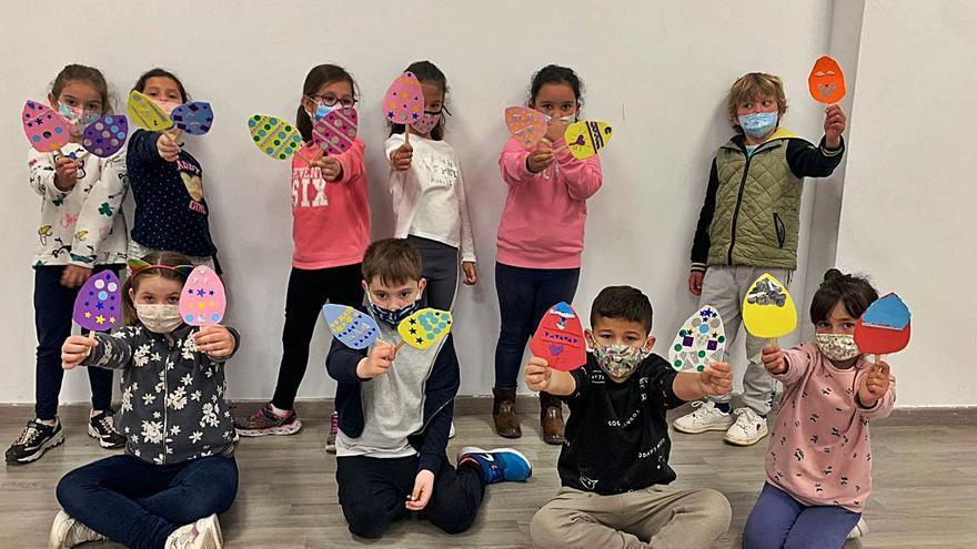68 niños y jóvenes en las actividades de Semana Santa