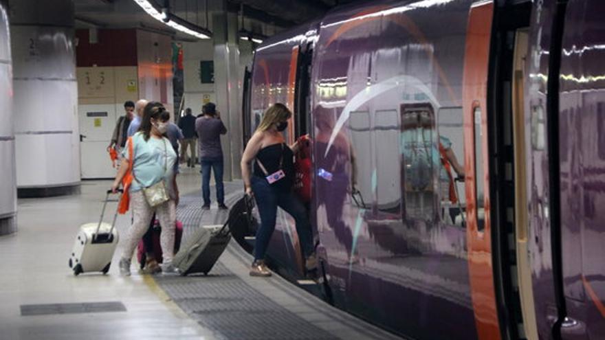 Rècord de 213.607 viatgers a Renfe durant el cap de setmana, la millor xifra des de l'inici de la pandèmia