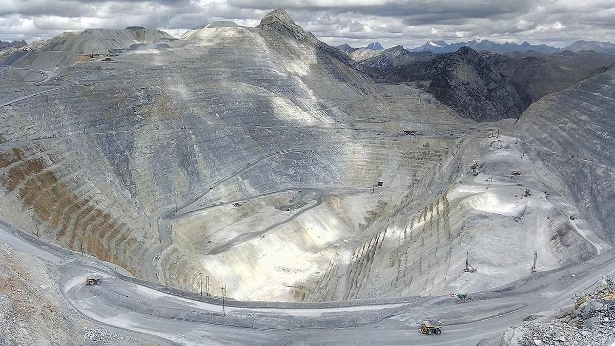 La mina de Antamina, en Perú.