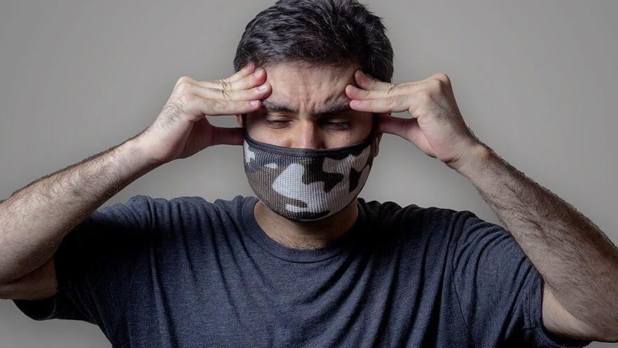 ¿La mascarilla puede dar dolor de cabeza?