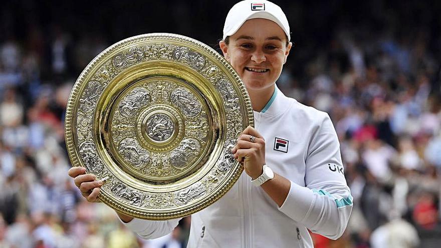 Ashleigh Barty  no decep i es corona campiona a Wimbledon