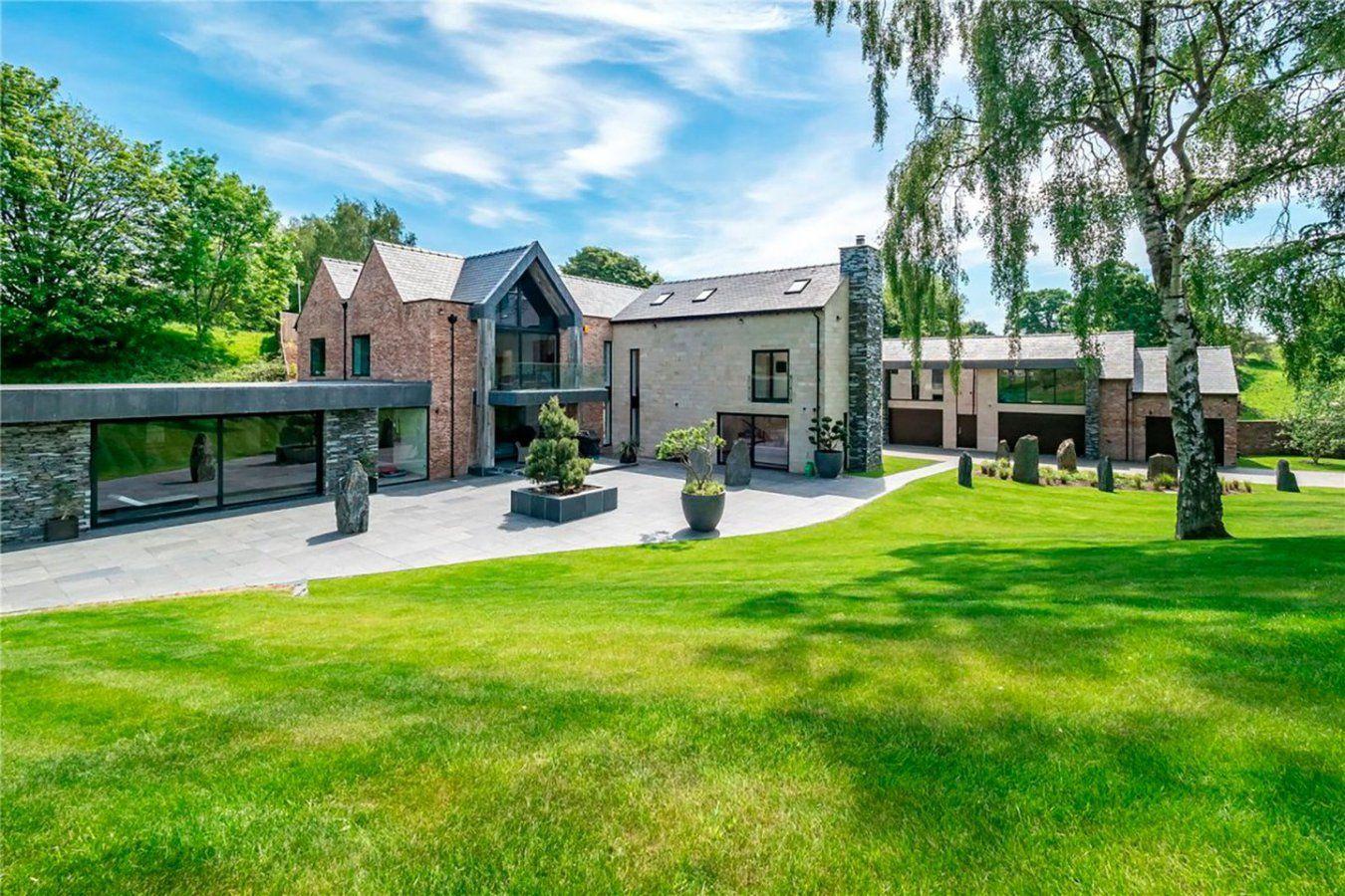 Así es la mansión donde viven Cristiano Ronaldo y Georgina Rodríguez en Manchester