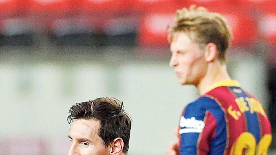 Messi decide desde el banquillo