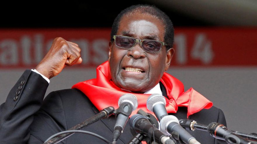 Mor l'expresident de Zimbabwe Robert Mugabe