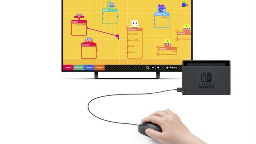 Nintendo llança un 'software' per crear jocs propis
