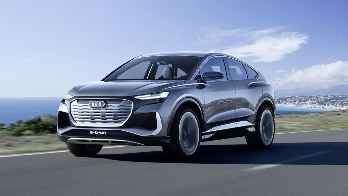 Audi presenta el prototipo Q4 Sportback e-tron, un nuevo SUV cupé eléctrico
