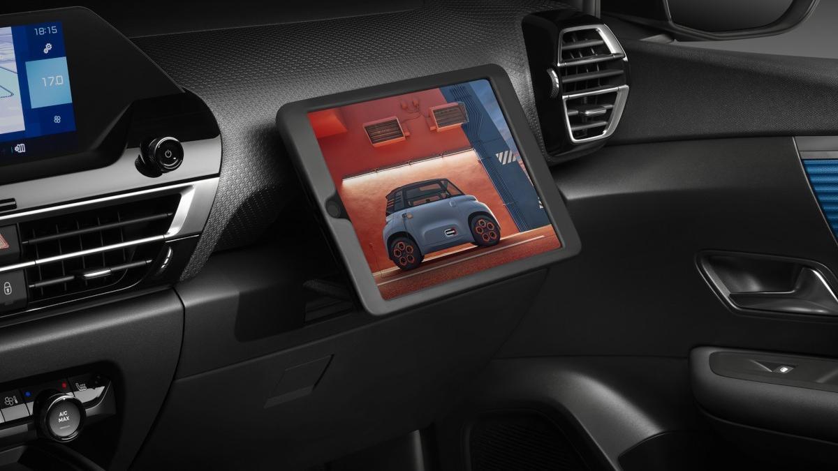 El nuevo Citroën C4 integra tu propia Tablet
