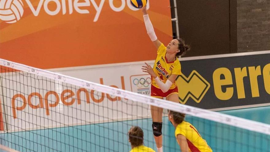La España de Raquel Montoro cae ante Alemania