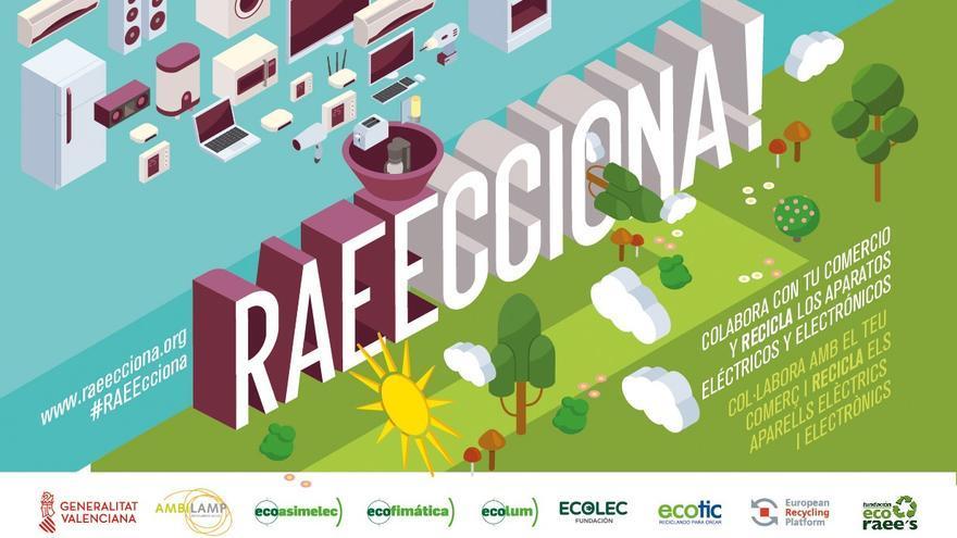 La Comunitat Valenciana 'RAEECCIONA' ante la gestión de los Residuos de Aparatos Eléctricos y Electrónicos