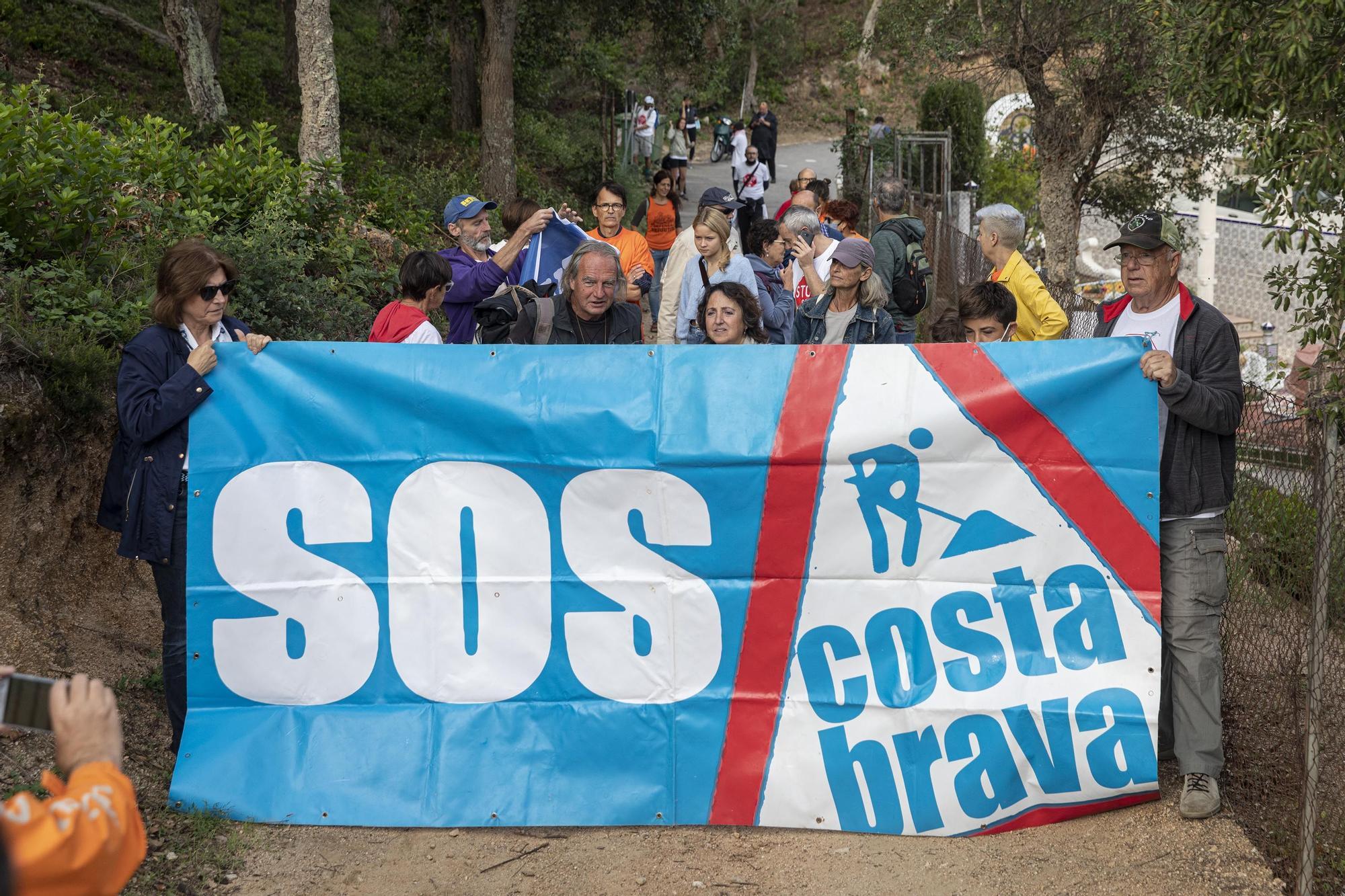 Manifestació del SOS Costa Brava