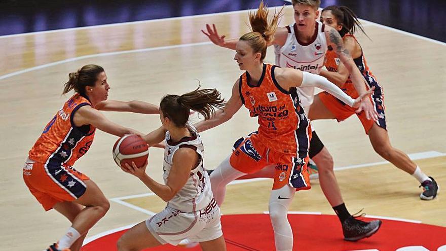 Examen para el Valencia Basket femenino