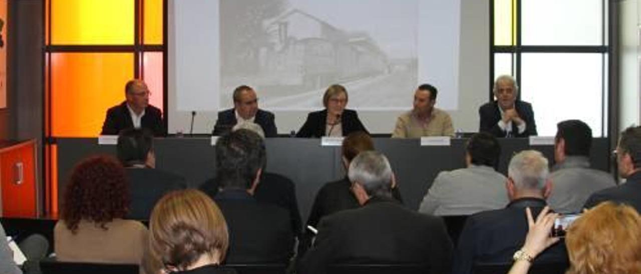 El Consell impulsa la Vía Verde que une  la comarca