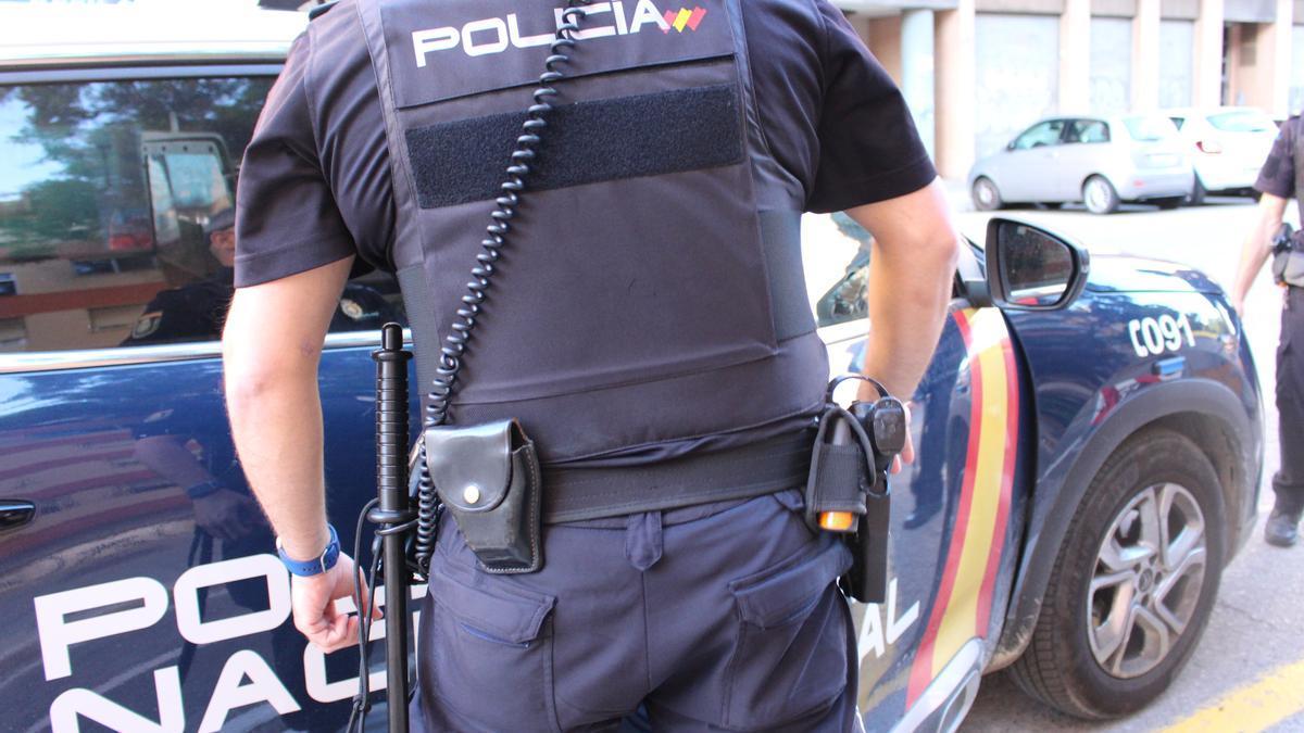 Imagen de archivo de un agente de la Policía Nacional.