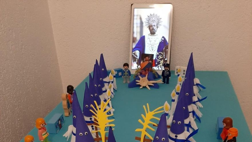 Celebración virtual de la Semana Santa de la cofradía de San Pedro Apóstol